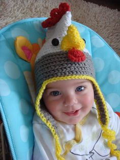20 Best Knitted Hats For Chickens And Humans Images