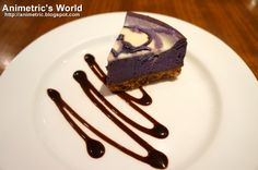 Ube (purple yam) Cheesecake at East Cafe... one of the best I've tried!