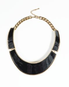 Black Arsinoe Collar - Classy statement piece