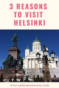 Thinking about Finland? Why not visit Helsinki? this walkable, seaside capital has so much to offer. Visit Helsinki, Travel Guides, Finland, Aurora, Seaside, Northern Lights
