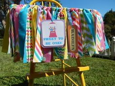 Sweet Shoppe Party Photo Prop/ Highchair banner on Etsy, $32.00