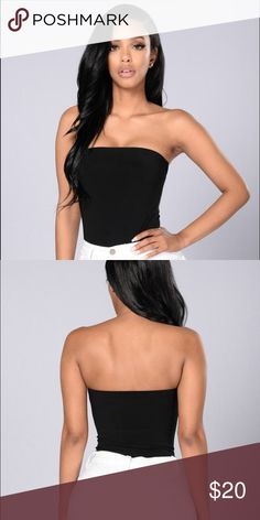 9e4f8ce3b416e NEW Black Strapless Bodysuit FASHION NOVA! size xsmall. never worn Fashion  Nova