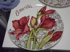 Ceramic Bowls, Ceramic Art, China Painting, Glass Flowers, Painting Lessons, Hand Painted Ceramics, Painting Inspiration, Dinnerware, Decoupage