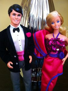 1982 Dream Date Barbie & Ken! Had them both! He was my favorite Ken Doll!