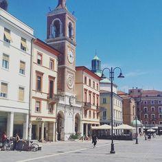 #Rimini #Italy #roadtrip #buildings #architecture #history  #city #travel #maturalac by irina_rinkovec