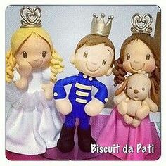 Resultado de imagen para ceramica al frio princesas y principes