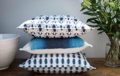 Cottonberry's Indigo Bay Collection Indigo, Bed Pillows, Pillow Cases, Collection, Home, Pillows, Indigo Dye, Ad Home, Homes