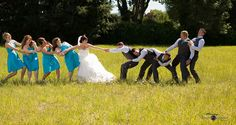 Bridal tug-o-war -Weddings - MonkeyPhotographyDesign