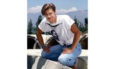 Jesus T-Shirt | The 11 Best Brad Pitt '80s GlamourShots
