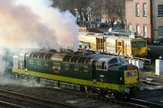 Napier powered English Electric [Vulcan] Deltic