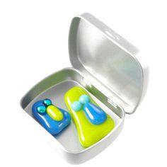 magnets two fused glass kids graduation teacher by bluedaisyglass, £5.50