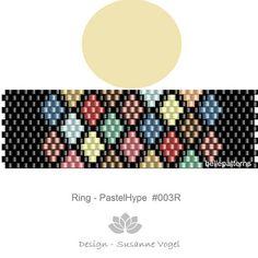 ARTIKELDETAILS: Pastel-Hype #003R Peyote Ring Muster Perlen: Miyuki Delica 11/0 Größe: 1,75cm x 5,7 cm/ 0.69 x 2.23 Peyote - ungerade >>>>>>>>>>>>>>>> Coupon-Codes: <<<<<<<<<<<<<<<<< 10% - Rabatt: 10PERCENTOFF (Mindestwarenwert: € 15,00) 15% - Rabatt: 15PERCENTOFF (Mindestwarenwert: € 20,00) 20% - Rabatt: 20PERCENTOFF (Mindestwarenwert: € 25,00) 25% - Rabatt: 25PERCENTOFF (Mindestw...