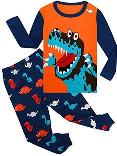 Qtake Fashion Boys Pajamas Planet Winter Long Sleeve Children Set 100/% Cotton Little Kids Pjs Sleepwear Size 12M-12year