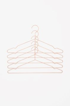 HAY set of 5 metal hangers