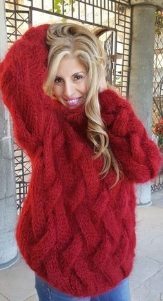 58 Sweaters Cardigans To Update You Wardrobe Now - Este Fashion Rig Modest Fashion, Fashion Outfits, Fashion Trends, Stylish Outfits, Cute Outfits, Gros Pull Mohair, Angora, Knitwear Fashion, Sweater Outfits