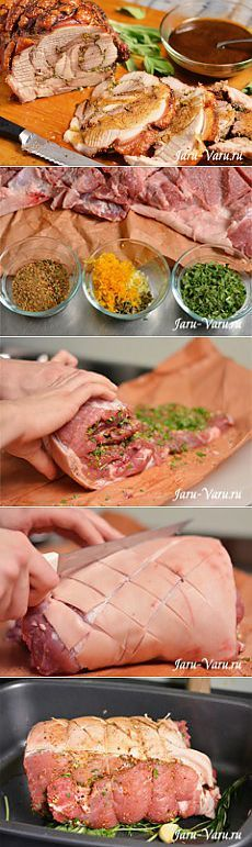 cooking- Pork shoulder roll (a la Porchetta) Mexican Pork Recipes, Pork Recipes For Dinner, Fish Recipes, Chicken Pork Recipe, Chicken Recipes, Cooking Pork Shoulder, Salty Foods, Roasted Meat, Russian Recipes