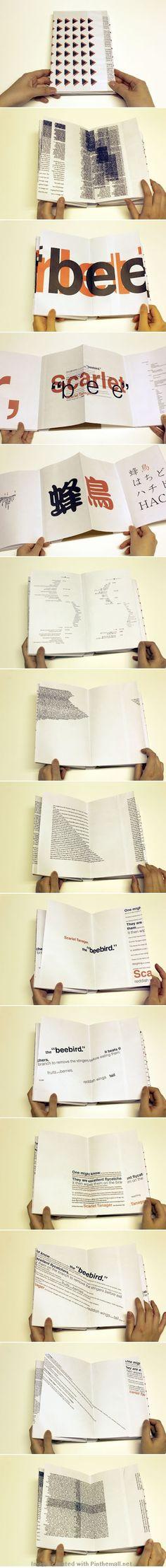 Erica Kitamura: Experimental Book Layout