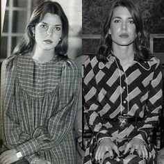 Princess Caroline of Monaco and her daughter Charlotte Casiraghi