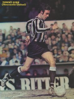 Tommy Gibb Newcastle United 1970 Newcastle United Football, Black N White, Football Players, Soccer, Army, Punk, Baseball Cards, Terrace, 1970s