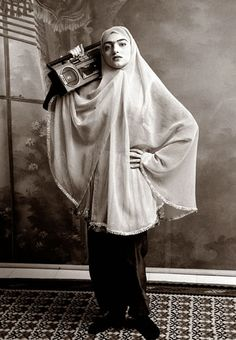 Anachronistic photography from Iranian photgrapher Shadi Ghadirian. #photography #iran #women