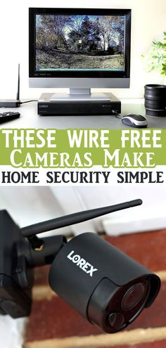 These Wire-Free Cameras Make Home Security Super Simple Wireless Home Security Cameras, Home Security Camera Systems, Perfect Image, Perfect Photo, Love Photos, Cool Pictures, Protecting Your Home, Peace Of Mind, Saving Money
