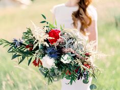 Wild bouquets || Floral, Decor and Styling by Harvest Moon Events | Photo by Carla Boecklin Photography | Model: Dani Braun | Gown: Chantel Lauren | Hair/Makeup: Whitney Transtrum | Vintage Rentals: Pink Hippo | Desserts: Auntie Em's Park City | Venue: Conestoga Ranch