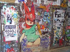 Graffiti- Mrs. Van, love her work.