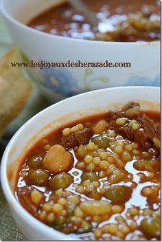 berkoukes, recette algerienne