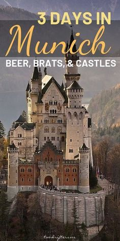 Beer, Brats, & Castles: 3 Days in Munich, Germany Have time to spend only 3 days in Munich? This itinerary ensures you see all the essential Munich sites, even when you're on a time crunch. Europe Destinations, Europe Travel Tips, Budget Travel, Travel Guides, Places To Travel, Europe Budget, Travel Hacks, Travel Usa, Munich Germany