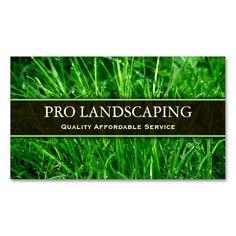 Gardener / Landscaping Business Card