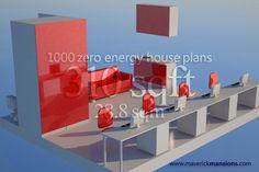 Net zero energy house plans | passive house plans | sustainable house plans | eco house plans.