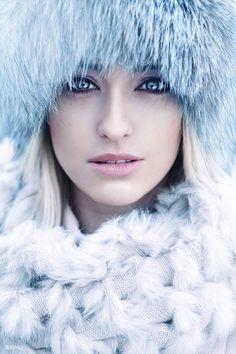 20 Best Winter Beauty And Fashion Photography by Hairstyle Makeup