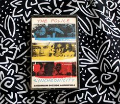 The Police Synchronicity Cassette Tape. Vintage 1980s Rock