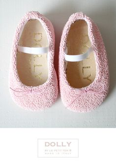 DOLLY by Le Petit Tom ® BABY BALLERINA'S 5CB 'Sweets' pink