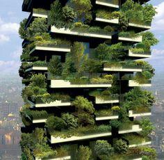 イタリアのミラノにある歴史地区、ポルタ・ヌォーヴァに、『Bosco Verticale(垂直の森)』と呼ばれるこちらのタワーマンションが完成したようです。その姿は、まさに「森のマンション」。イタリア・ミラノの建築家が、限られた土地で緑を増やそうと考えた結果、マンションごと森にしてしまおうとデザインされたようです