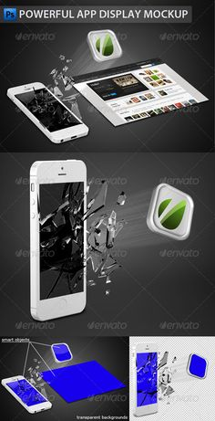 White Phone App Display Mockup — Photoshop PSD #white iphone #powerful • Available here → https://graphicriver.net/item/white-phone-app-display-mockup/3590409?ref=pxcr