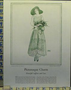 1920s fashion ad - Best & Company design