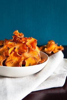 Sweet Potato Baked Chips /