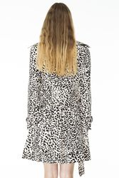 Leopard Printed Trench - Shopmamie.com