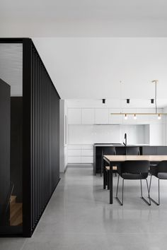 Naturehumaine Adds Rodded Stairwell To Bessborough Residence In Montreal
