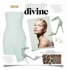"""Simply divine"" by lisamichele-cdxci ❤ liked on Polyvore featuring Elizabeth and James, Eddie Borgo, Halston Heritage, Balenciaga and Michael Kors"