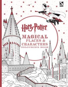 Harry Potter Magical Places Creatures Colouring Book