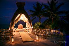Wedding Gazebo at Dreams Riviera Cancun Resort & SPA