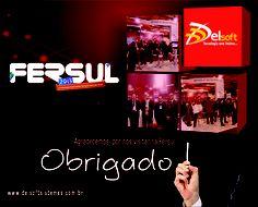 E-mail Marketing agradecimento aos visitantes Fersul 2013