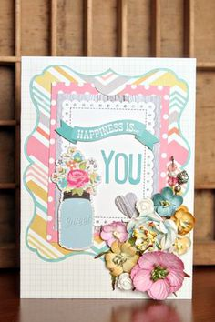 Christine created the perfect card using the Seed Packet Card from MOM'S GARDEN GIFTS SVG KIT to match her wonderful flower pot!  They make the perfect pair for a great gift anyone would love to receive!