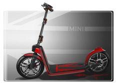 Das Mini Citysurfer Concept bietet ein Maximum an Flexibilität für individuelle Mobilität in urbanen Ballungsgebieten.
