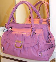 guess purses pink