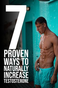 looking for way to increase testosterone? 7 proven ways to naturally increase testosterone. Testosterone Boosting Foods, High Testosterone Levels, Natural Testosterone, Boost Testosterone, Increase Testosterone Naturally, Build Muscle Fast, Weight Loss For Men, Health Benefits, Health Fitness