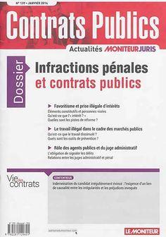 Infractions pénales et contrats publics