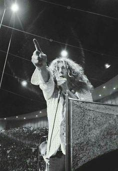 Robert Plant, c. 1970.